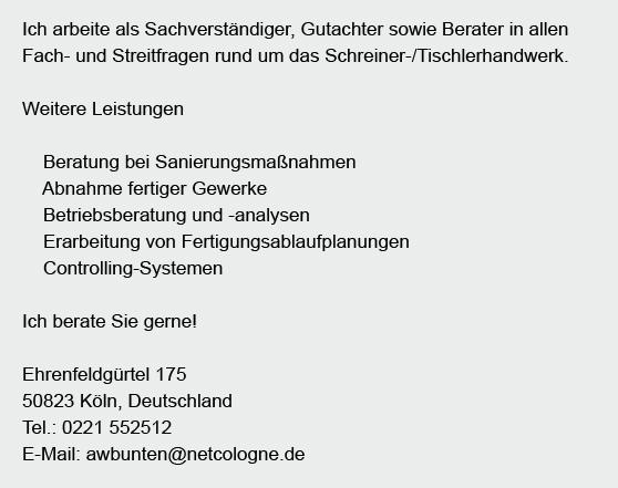 Schreiner-Tischlerhandwerk