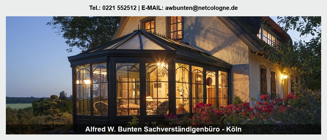Gutachter Möbel in der Nähe von Bonn - Sachverständiger Bunten: Gutachter Holztreppen, Gutachter Fenster, Gutachter Ladenbau